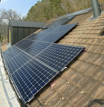 Small pv anlage sommerhalde 28 sh