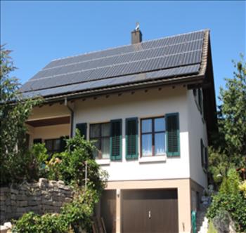 Small solaranlage boegli