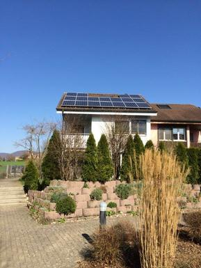 Small pv anlage haus